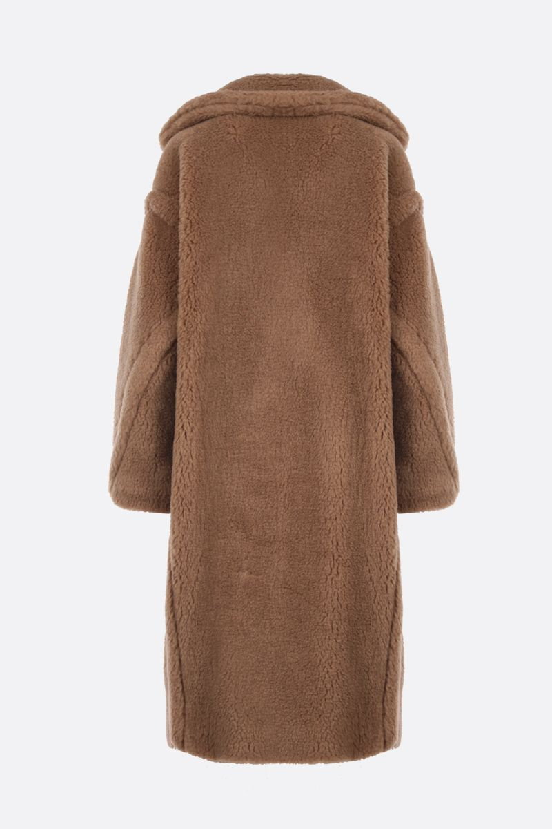 MAX MARA: 3Teddy double-breasted fur coat Color Neutral_2