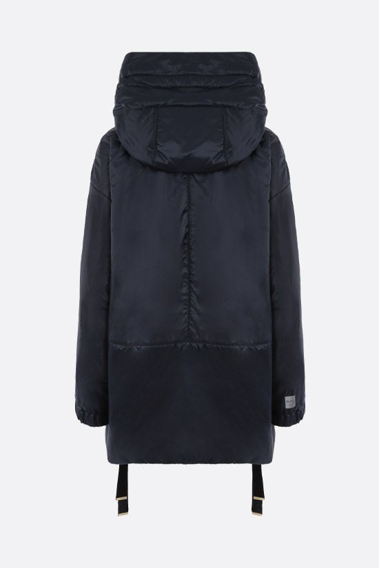 MAX MARA THE CUBE: Greenfe nylon down jacket Color Blue_2