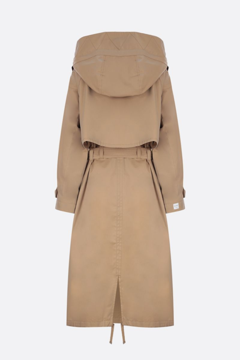 MAX MARA THE CUBE: oversized trench coat in cotton gabardine Color Neutral_2