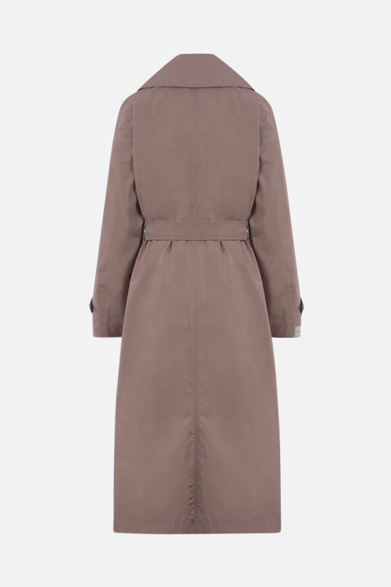 MAX MARA THE CUBE: Eimper taffetà single-breasted trench coat Color Pink_2