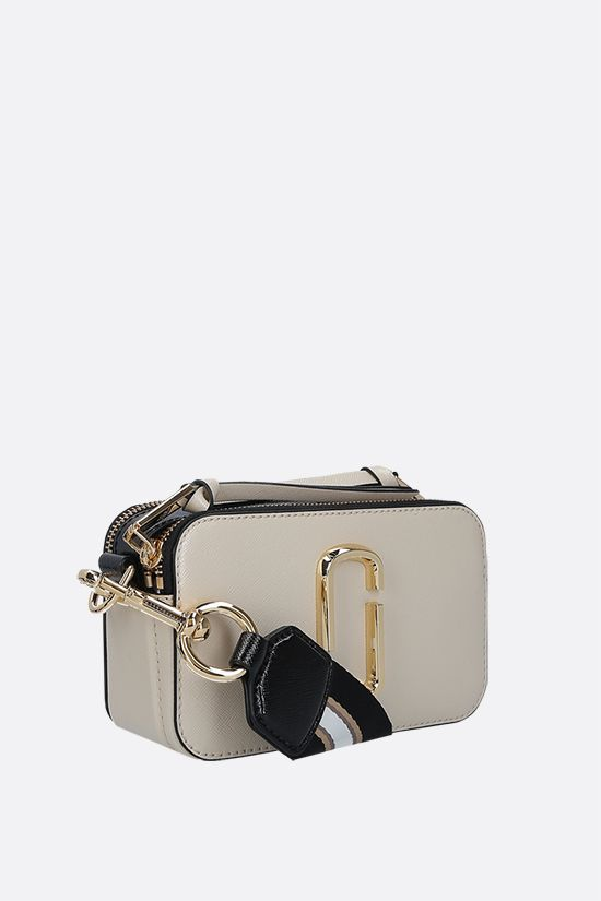 MARC JACOBS: Snapshot small camera bag in crossgrain leather_2