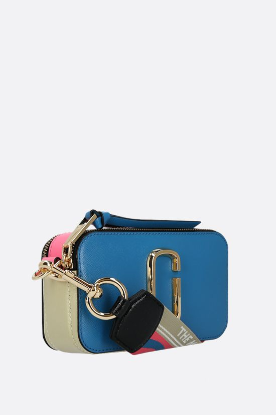 MARC JACOBS: Snapshot small crossgrain leather camera bag Color Multicolor_2