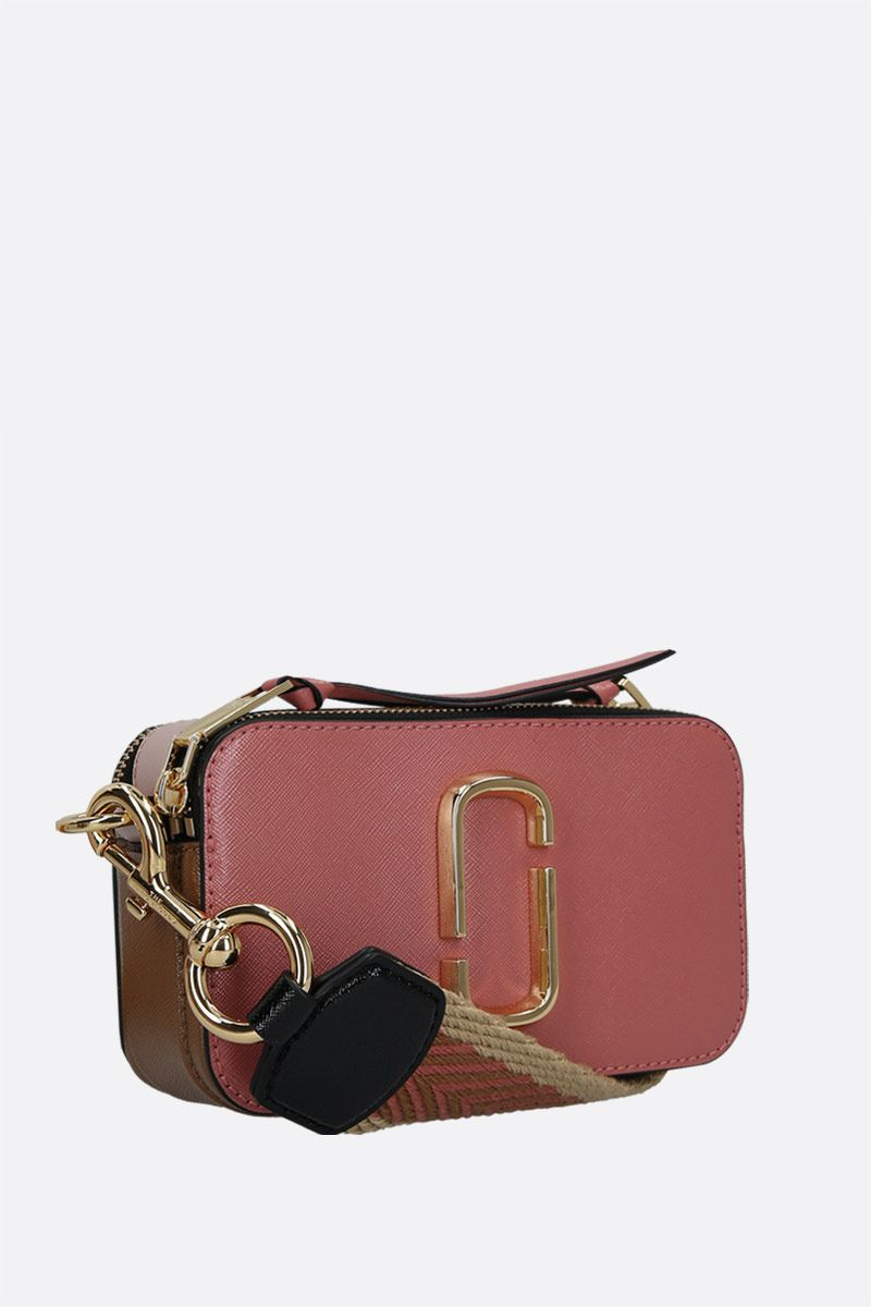 MARC JACOBS: Snapshot small crossgrain leather camera bag_2