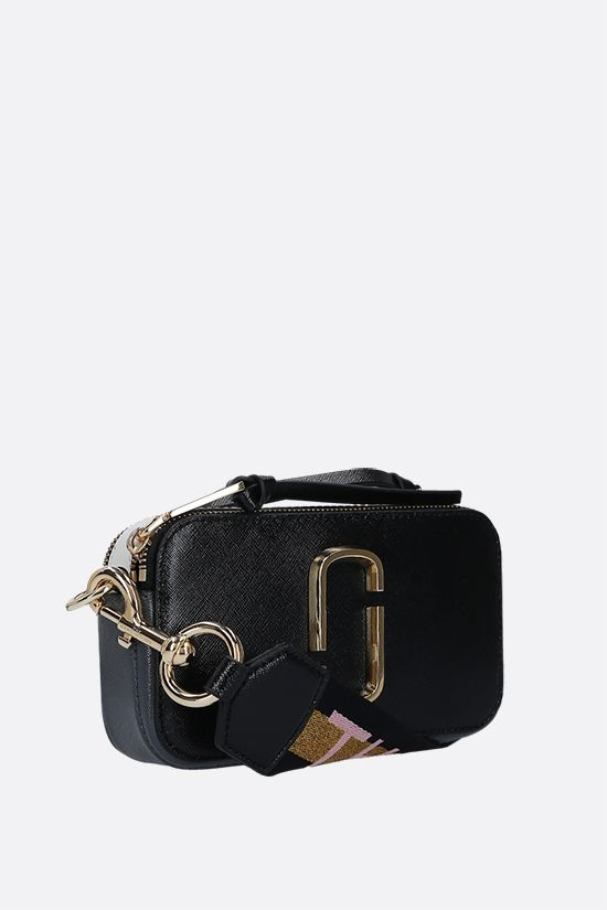 MARC JACOBS: borsa a tracolla Snapshot Small in pelle crossgrain_2