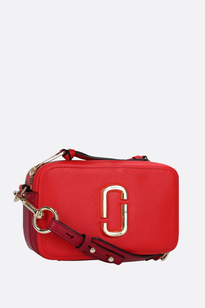 MARC JACOBS: borsa a tracolla The Softshot 21 in pelle martellata_2