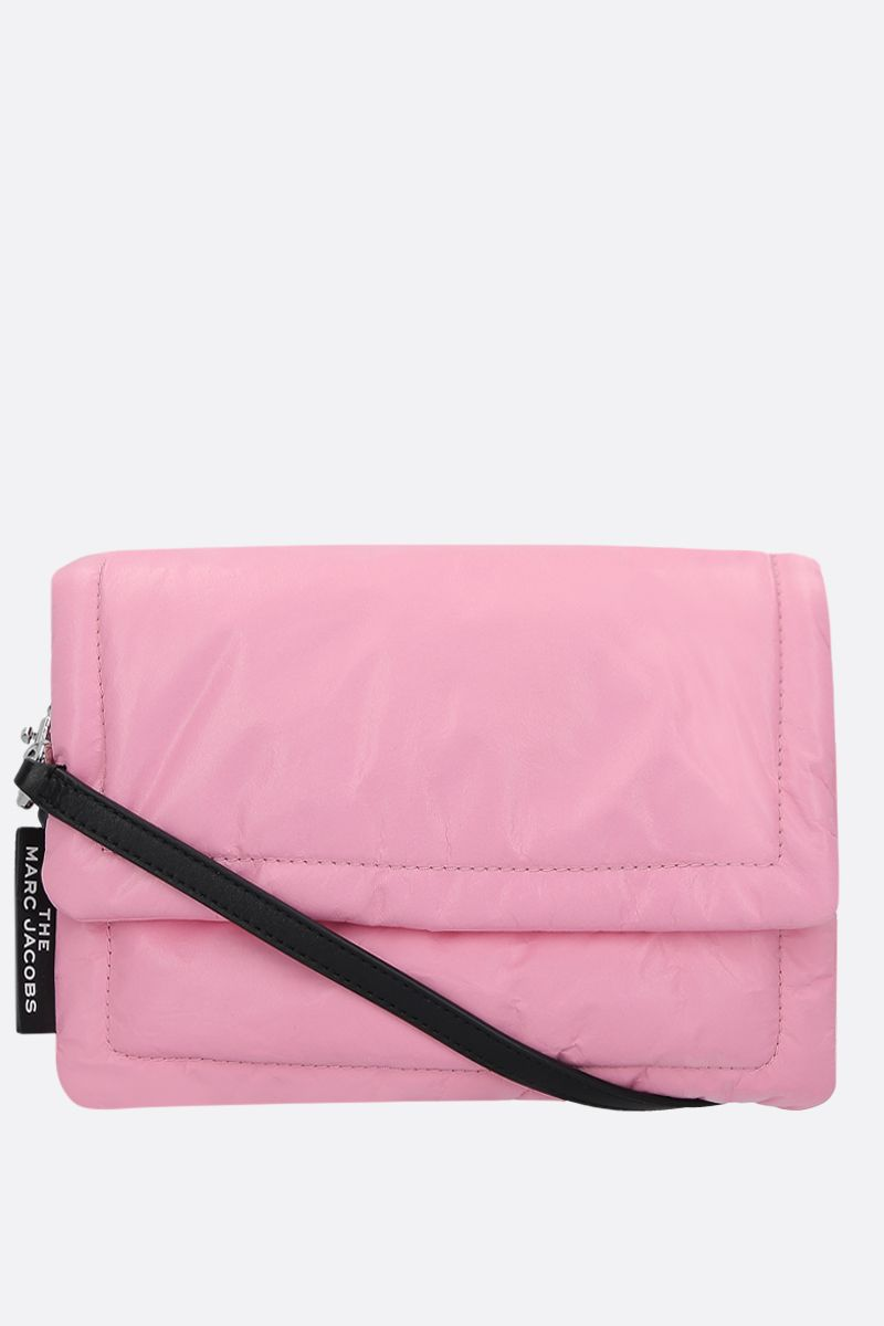 MARC JACOBS: borsa a tracolla The Pillow in pelle imbottita Colore Rosa_2