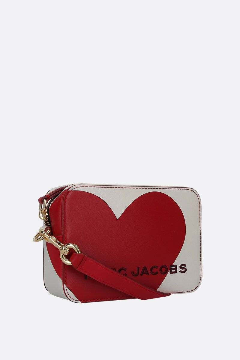MARC JACOBS: The Heart crossbody bag in smooth leather Color Multicolor_2