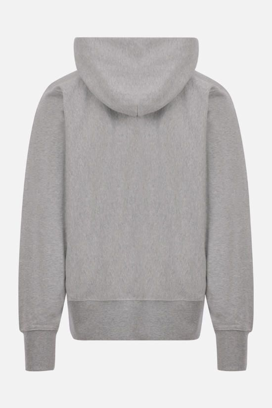 MAISON MARGIELA: 1CON full-zip cotton hoodie Color Grey_2