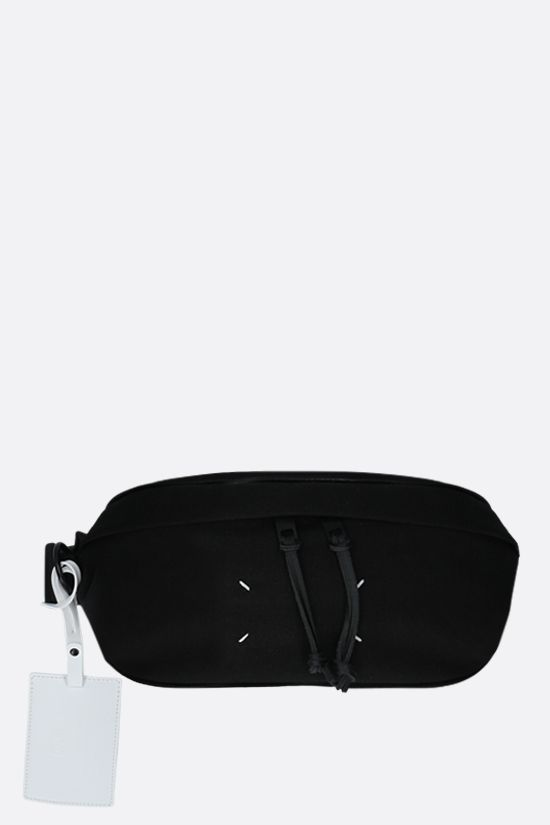 MAISON MARGIELA: 1CON nylon belt bag Color Black_1