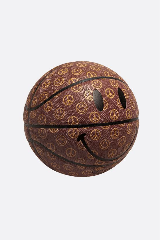 CHINATOWN MARKET: pallone da basket Smiley Cabana Colore Marrone_2