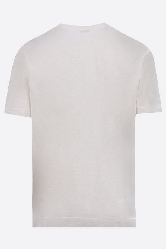 MASSIMO ALBA: Panarea cotton t-shirt Color White_2
