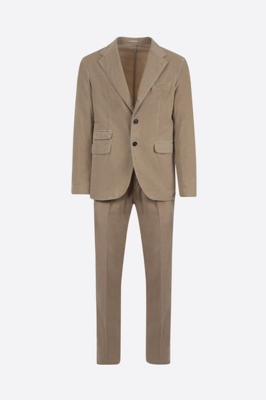 MASSIMO ALBA: corduroy two-piece suit Color Neutral_1