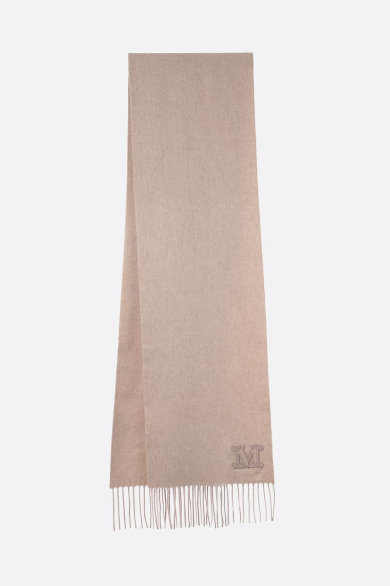 MAX MARA: Dalia cashmere scarf Color Neutral_2