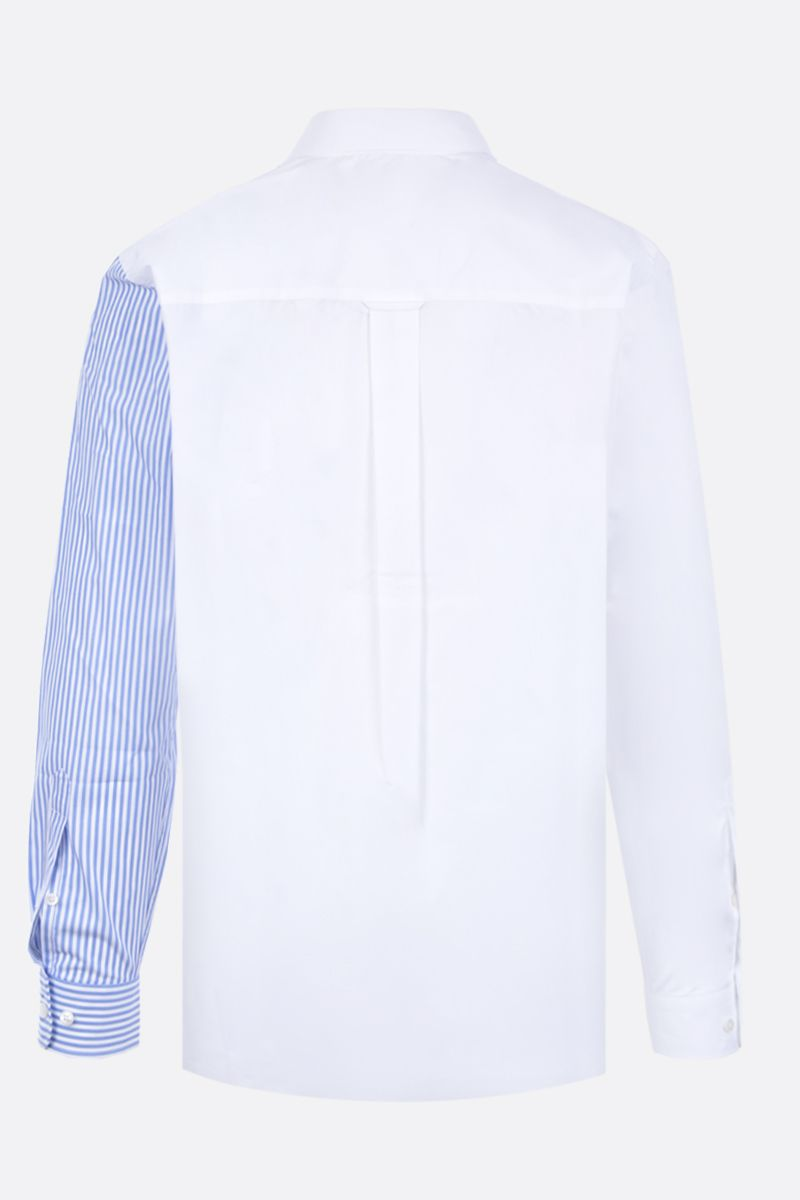 STELLA McCARTNEY: We are the weather print cotton shirt Color White_2