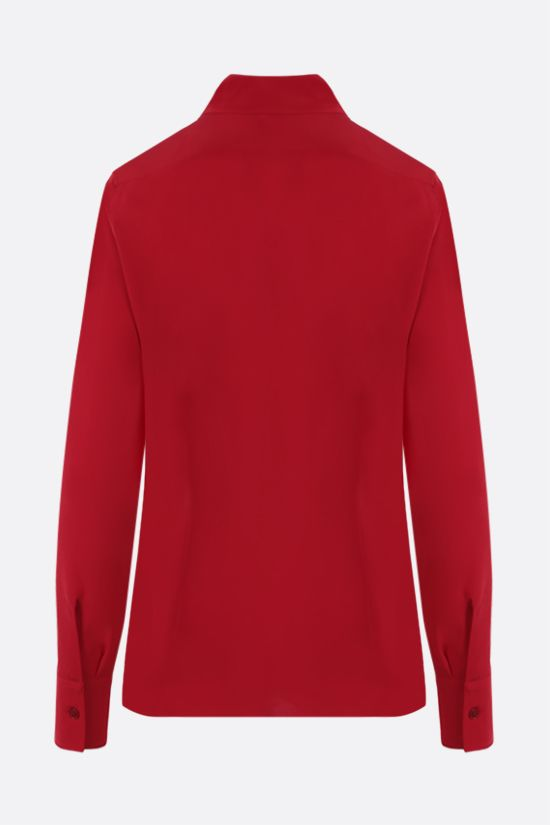 STELLA McCARTNEY: Willow silk shirt Color Red_2