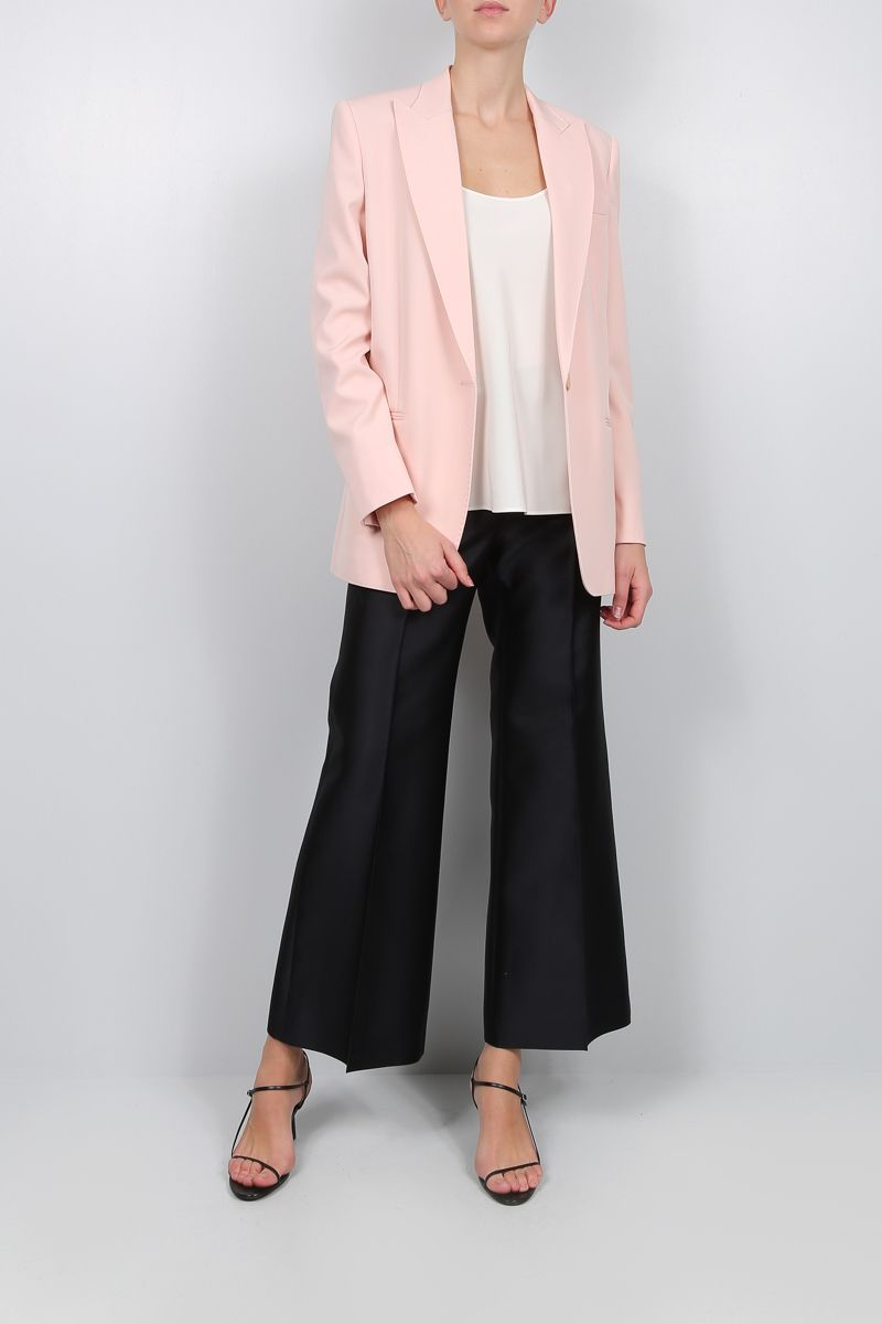 STELLA McCARTNEY: stretch wool single-breasted jacket_2