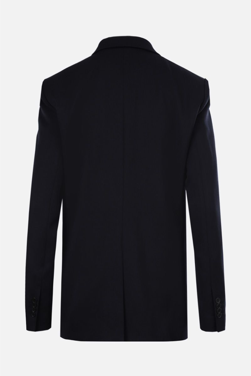 STELLA McCARTNEY: wool double-breasted jacket Color Black_2