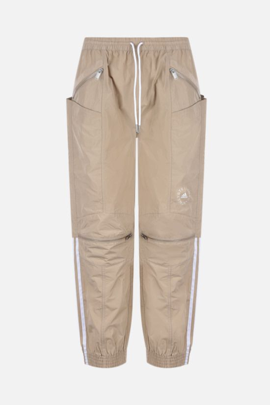 STELLA McCARTNEY: June technical fabric joggers Color Brown_1