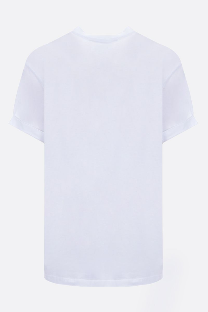 STELLA McCARTNEY: Ministar cotton t-shirt Color White_2
