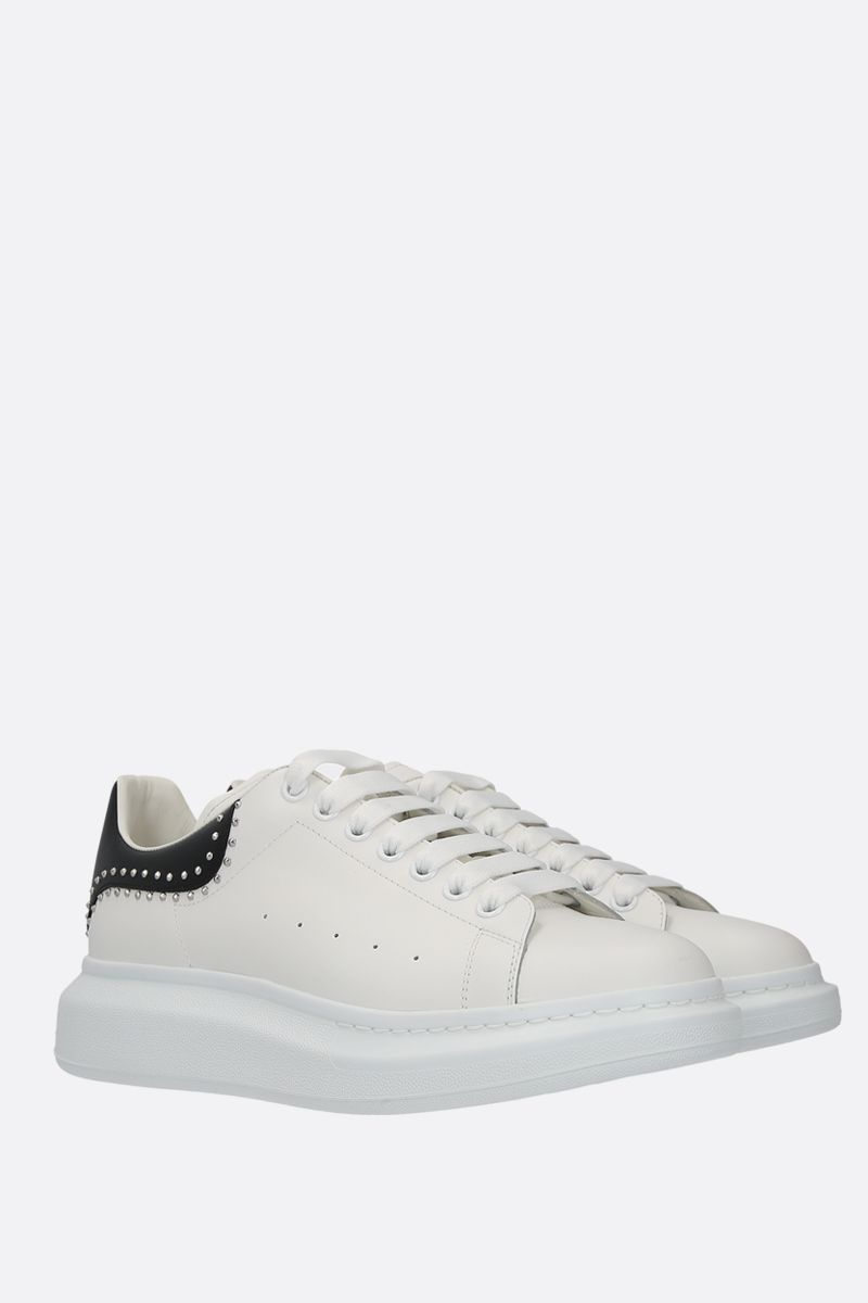 ALEXANDER McQUEEN: Oversize sneakers in Larry leather Color Multicolor_2