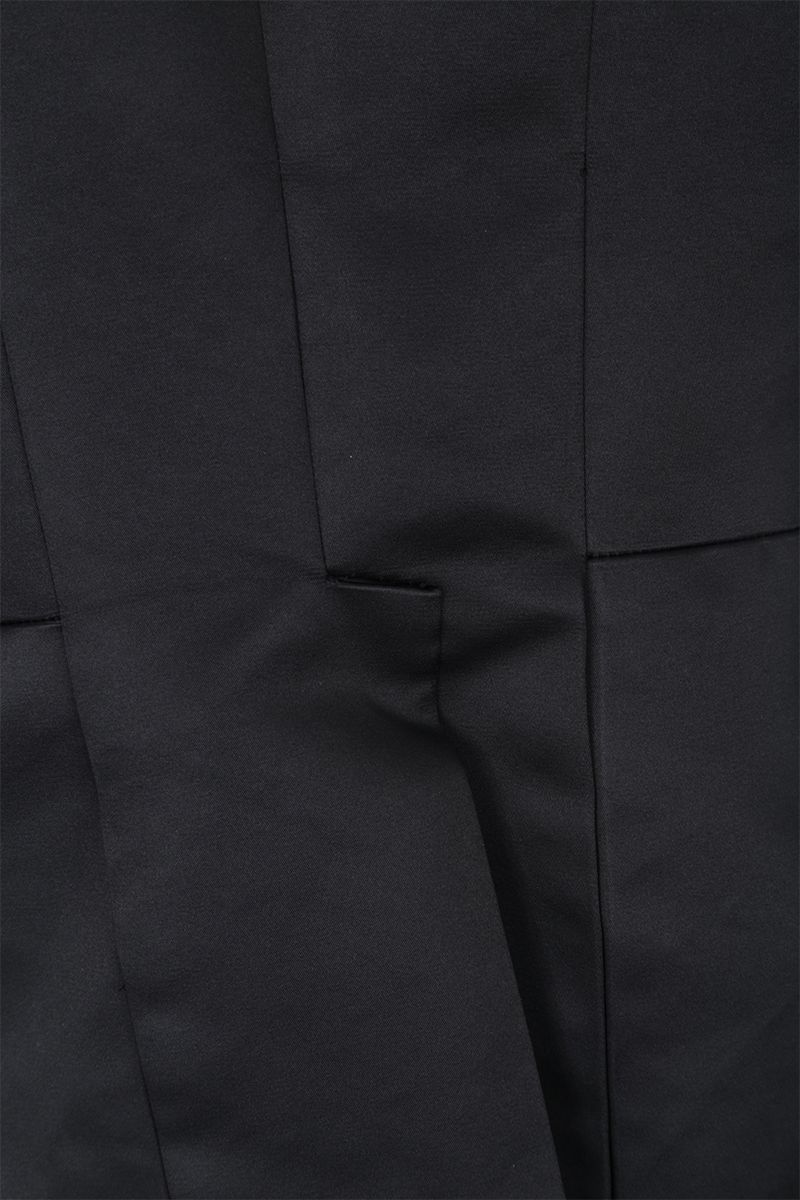 COMME des GARCONS: giacca smoking in raso Colore Black_4