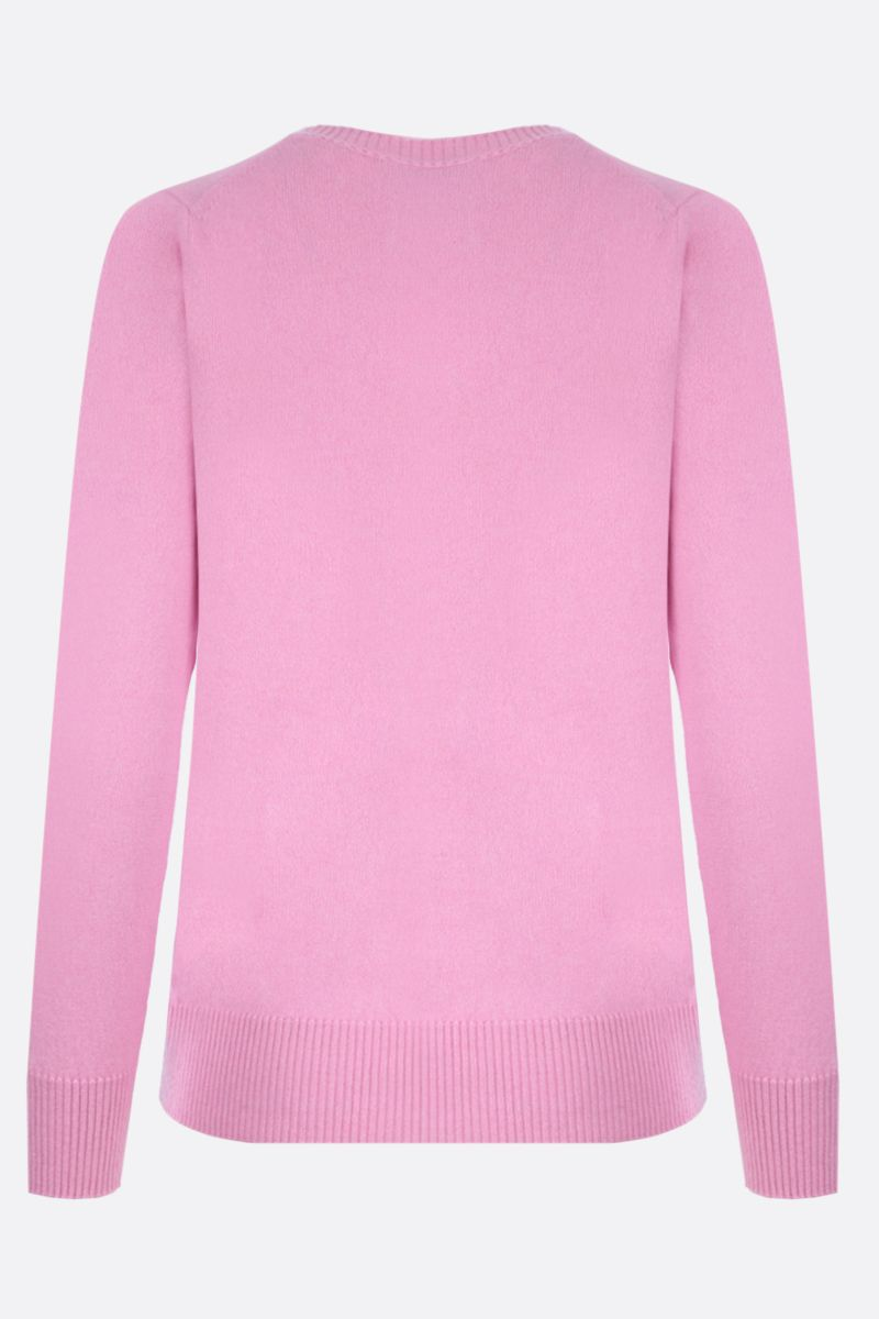 MILA SCHON: classic cashmere pullover Color Pink_2