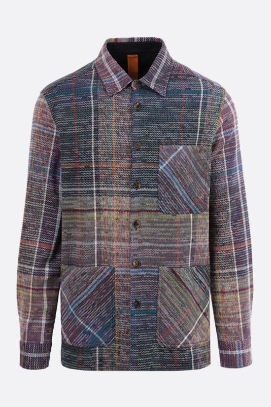 MISSONI: wool cotton blend overshirt Color Multicolor_1