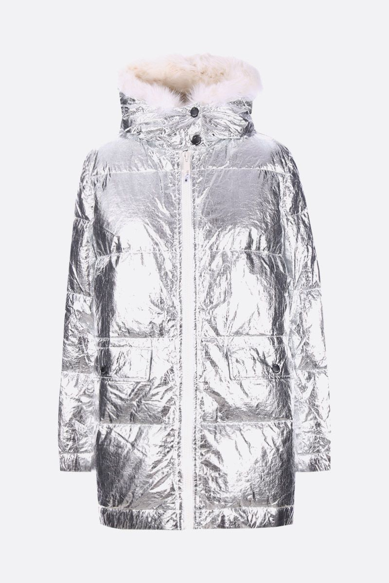 ARMY BY YVES SALOMON: coated technical fabric down jacket_1