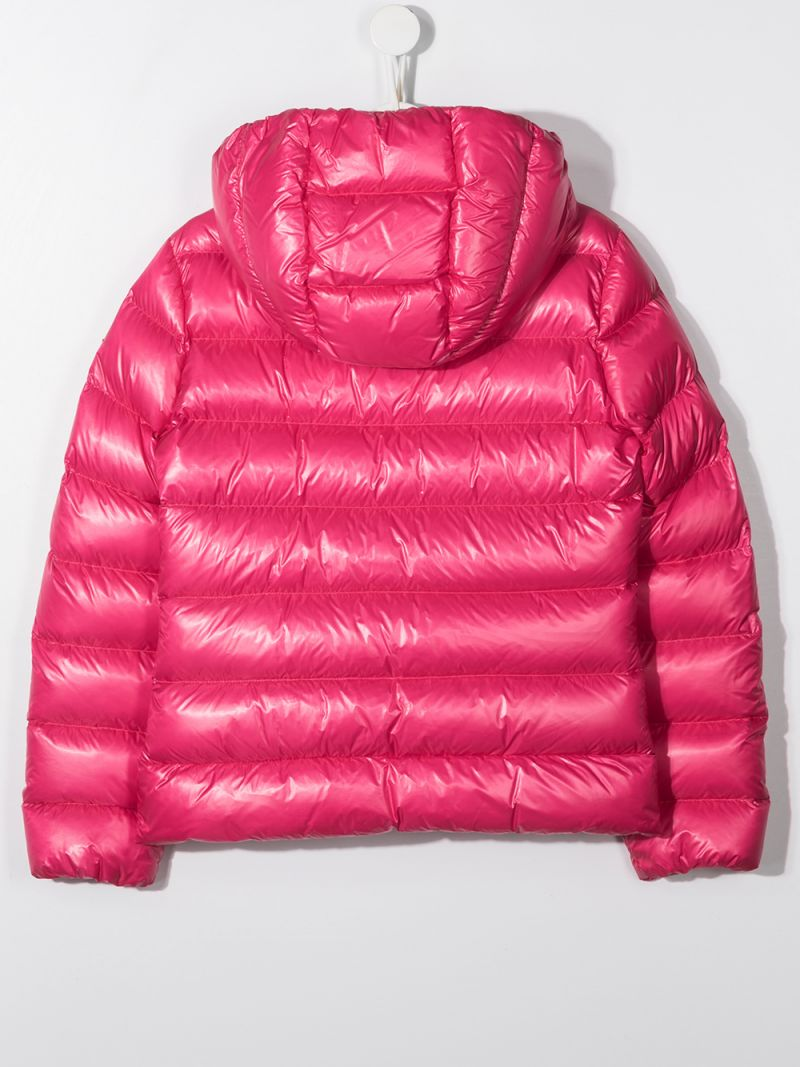 MONCLER KIDS: Sunday nylon down jacket Color Purple_2