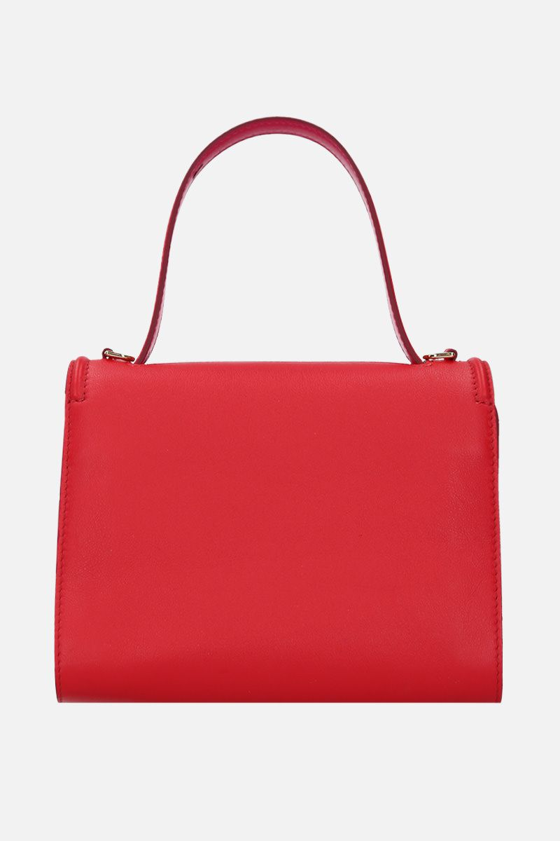 ALEXANDER McQUEEN: The Story crossbody bag in smooth leather Color Red_3