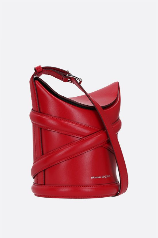 ALEXANDER McQUEEN: The Curve small smooth leather_2