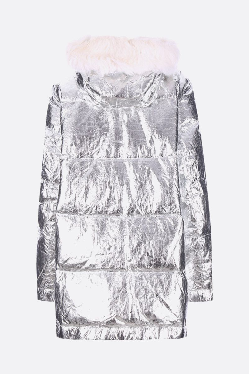 ARMY BY YVES SALOMON: coated technical fabric down jacket_2