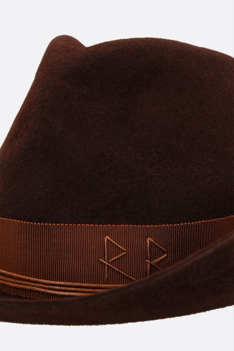 RUSLAN BAGINSKIY: felt cowboy hat Color Brown_4