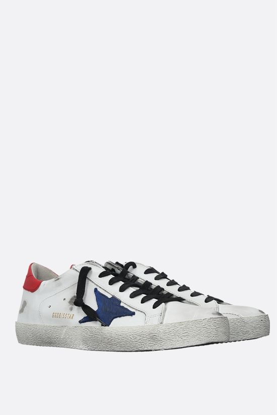 GOLDEN GOOSE DELUXE BRAND: Superstar smooth leather sneakers Color Multicolor_2