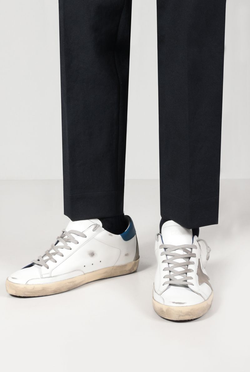 GOLDEN GOOSE DELUXE BRAND: Superstar smooth leather sneakers Color White_2