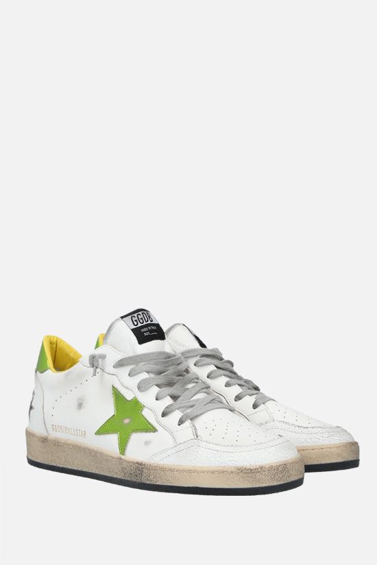 GOLDEN GOOSE DELUXE BRAND: Ball Star smooth leather sneakers_2