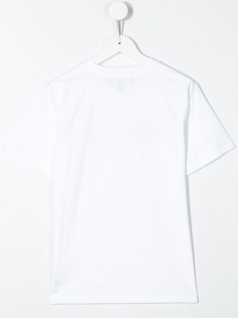 RALPH LAUREN KIDS: Polo Sport cotton t-shirt Color White_2