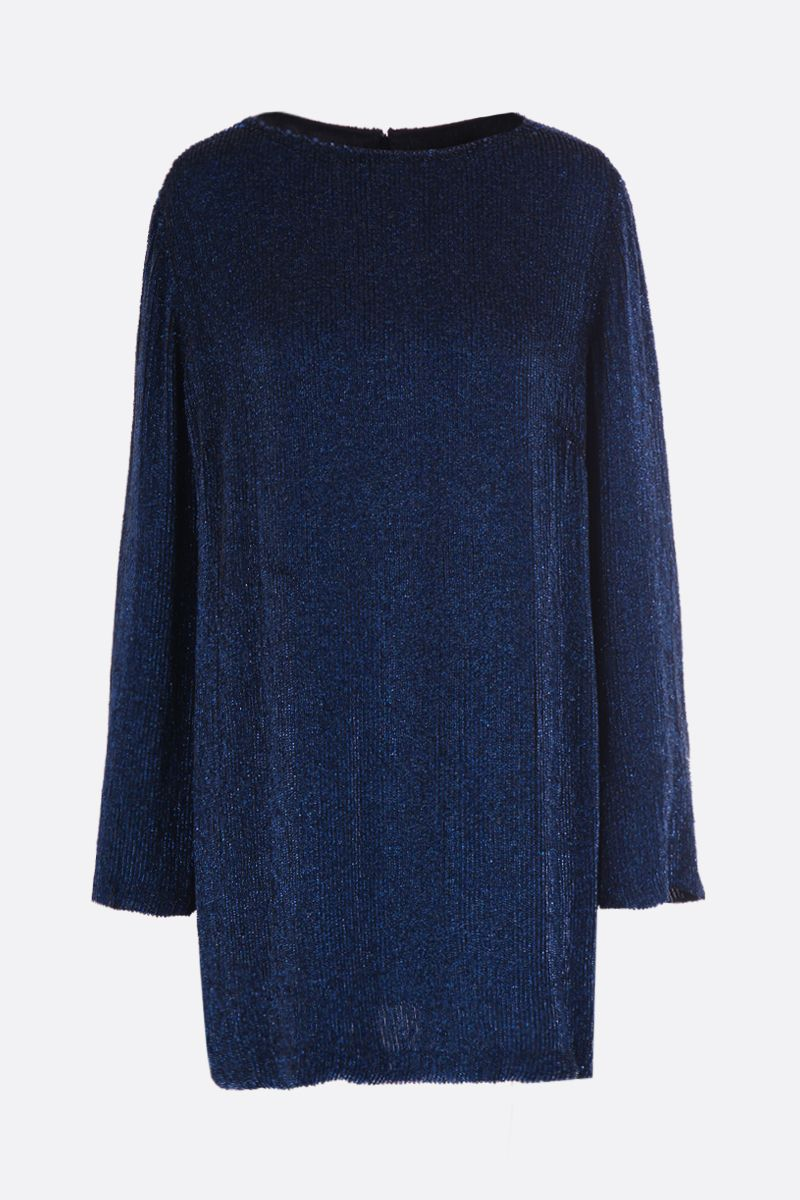MARIT ILISON: sequinned short dress Color Blue_1