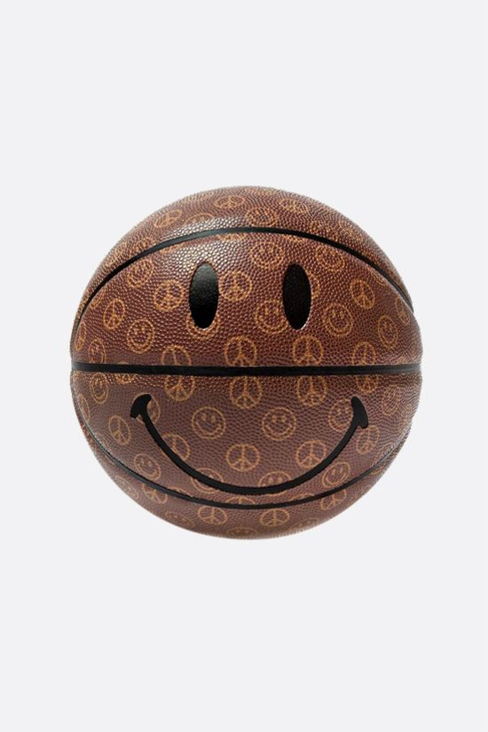 CHINATOWN MARKET: pallone da basket Smiley Cabana Colore Marrone_1