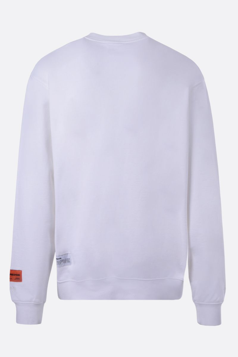 HERON PRESTON: graphic print cotton sweatshirt_2