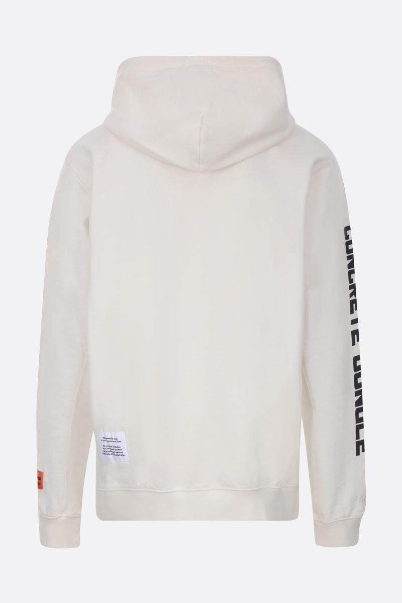HERON PRESTON: Heron cotton hoodie Color Multicolor_2