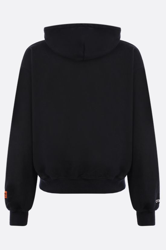 HERON PRESTON: Captcha cotton hoodie Color Black_2