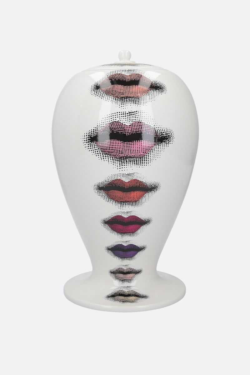FORNASETTI: Rossetti ceramic vase Color Multicolor_1