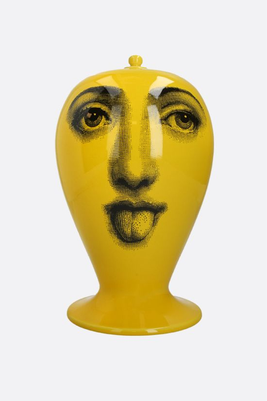 FORNASETTI: Antipatico ceramic vase Color Yellow_1
