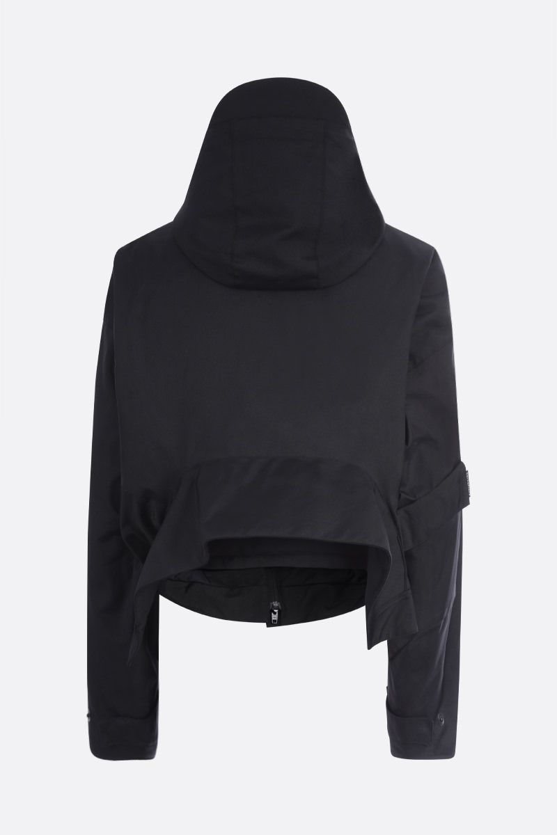 BALENCIAGA: Upside Down nylon padded jacket Color Black_2