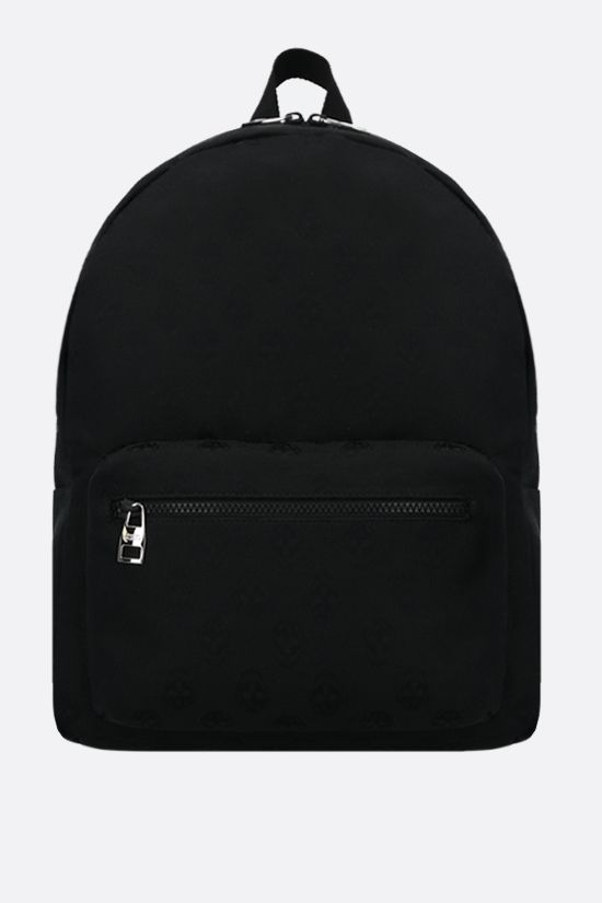 ALEXANDER McQUEEN: Metropolitan nylon backpack Color Black_1