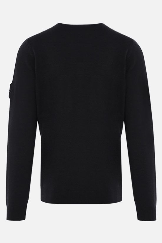 STONE ISLAND SHADOW PROJECT: wool silk knit pullover Color Black_2