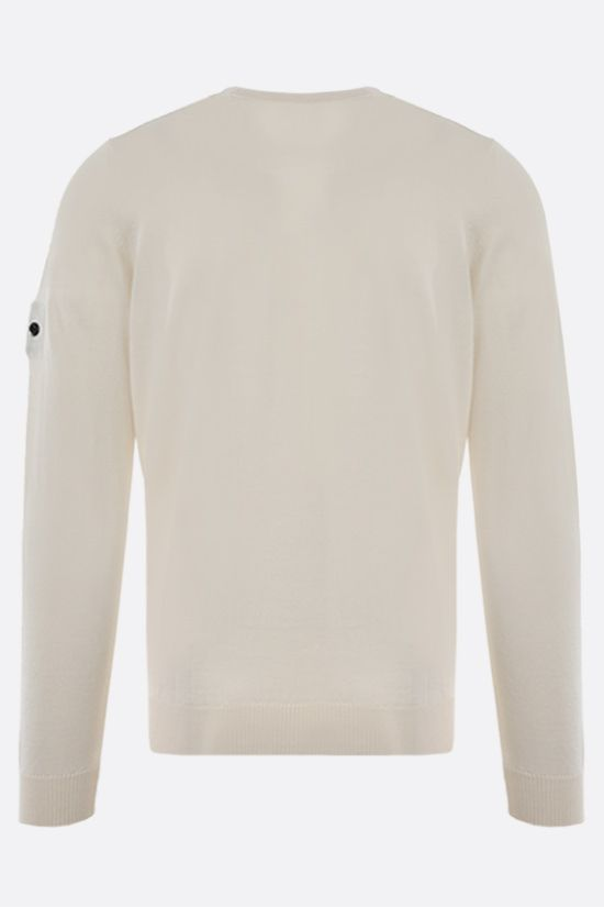 STONE ISLAND SHADOW PROJECT: wool silk knit pullover Color White_2