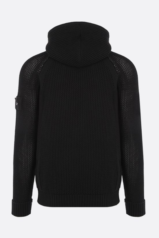 STONE ISLAND SHADOW PROJECT: nylon full-zip pullover Color Black_2