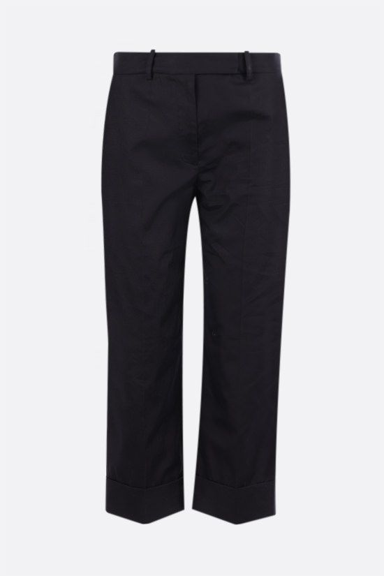 SIMONE ROCHA: cotton cropped pants Color Black_1